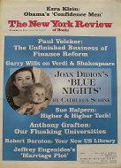 The New York Review of Books Vol. LVIII No. 18 Magazine