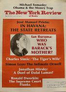 The New York Review of Books Vol. LVIII No. 9 Magazine