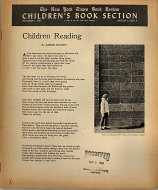 The New York Times Book Review: Children's Book Section Magazine