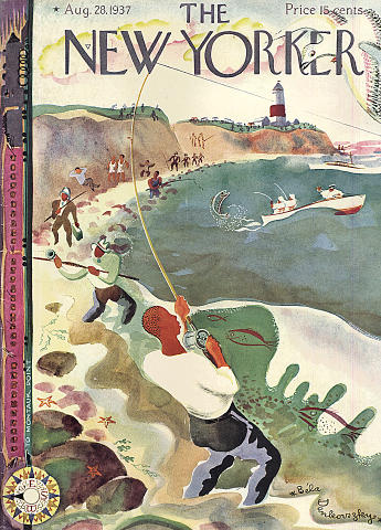 The New Yorker August 28, 1937 Magazine