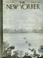The New Yorker March 31, 1962 Magazine
