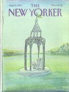 The New Yorker Vol. LIX No. 26 Magazine