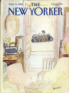 The New Yorker Vol. LVI No. 31 Magazine