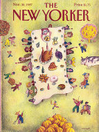 The New Yorker Vol. LXIII No. 41 Magazine