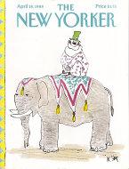 The New Yorker Vol. LXIV No. 9 Magazine