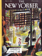 The New Yorker Vol. LXXI No. 47 Magazine