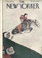 The New Yorker Vol. XI No. 28 Magazine