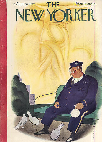 The New Yorker Vol. XIII No. 31 Magazine