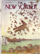 The New Yorker Vol. XLVII No. 35 Magazine