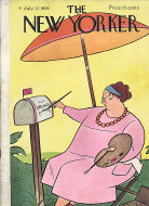 The New Yorker Vol. XV No. 23 Magazine