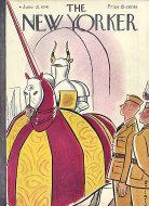 The New Yorker Vol. XVII No. 19 Magazine