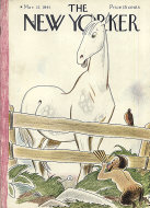 The New Yorker Vol. XVII No. 6 Magazine