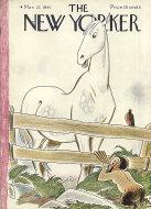 The New Yorker Vol. XVII No. 6 Magazine