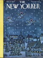 The New Yorker Vol. XXXIV No. 45 Magazine