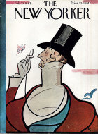 The New Yorker Vol. XXXIX No. 1 Magazine