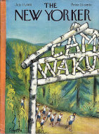 The New Yorker Vol. XXXVII No. 22 Magazine