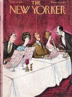 The New Yorker Vol. XXXVII No. 31 Magazine