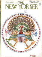 The New Yorker Vol. XXXVIII No. 40 Magazine