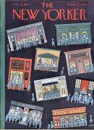 The New Yorker Vol. XXXVIII No. 43 Magazine
