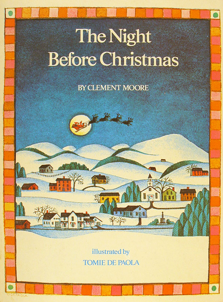the night before christmas book by clement moore 1980 at wolfgangs - Night Before Christmas Book