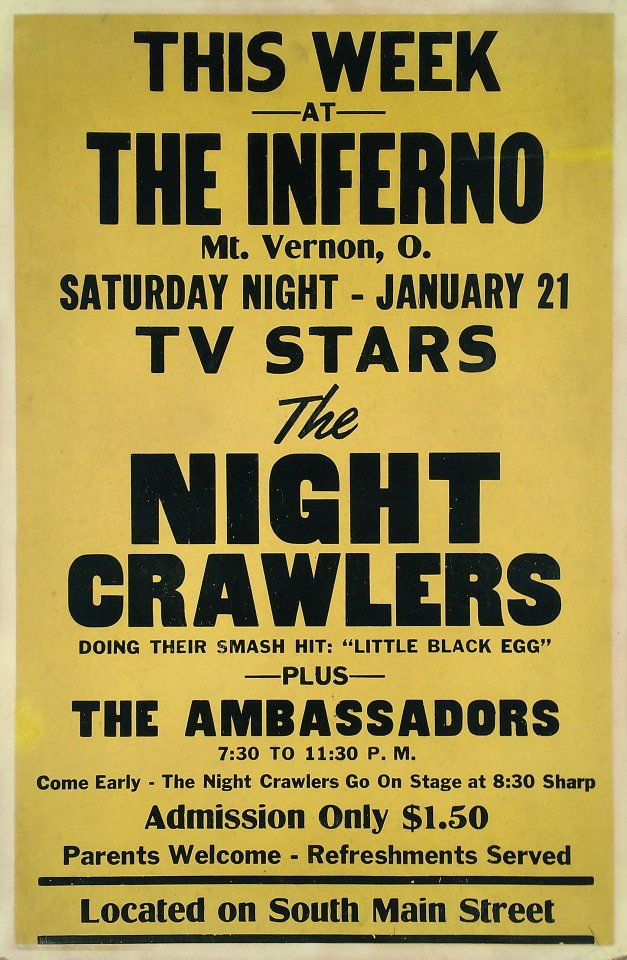 The Night Crawlers Poster