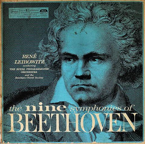 """The Nine Symphonies of Beethoven Vinyl 12"""" (Used)"""