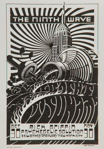 The Ninth Wave Handbill