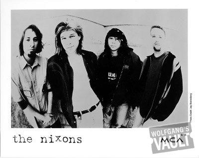 The Nixons Promo Print