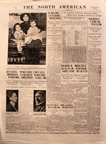 The North American May 17, 1912 Poster