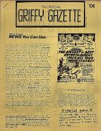 The Official Griffy Gazette Vol. 1 No. 1 Magazine