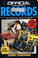 The Official Price Guide To Records - Eighth Edition Book