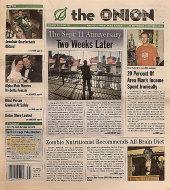 The Onion September 26, 2002 Magazine