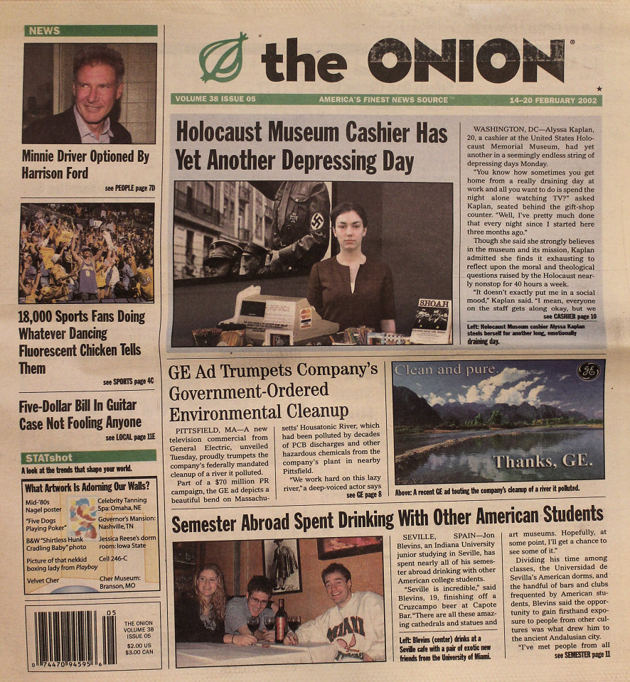 The Onion Vol. 38 Iss. 05