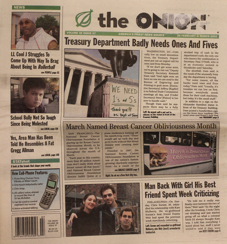 The Onion Vol. 38 Iss. 07