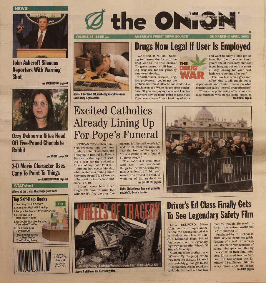 The Onion Vol. 38 Iss. 11