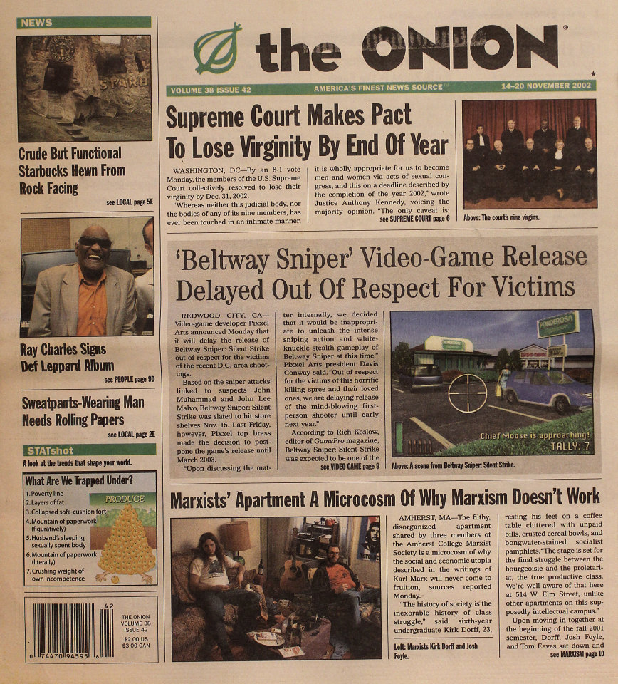 The Onion Vol. 38 Iss. 42