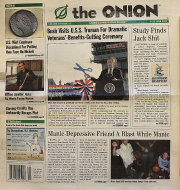 The Onion Vol. 39 Iss. 21 Magazine