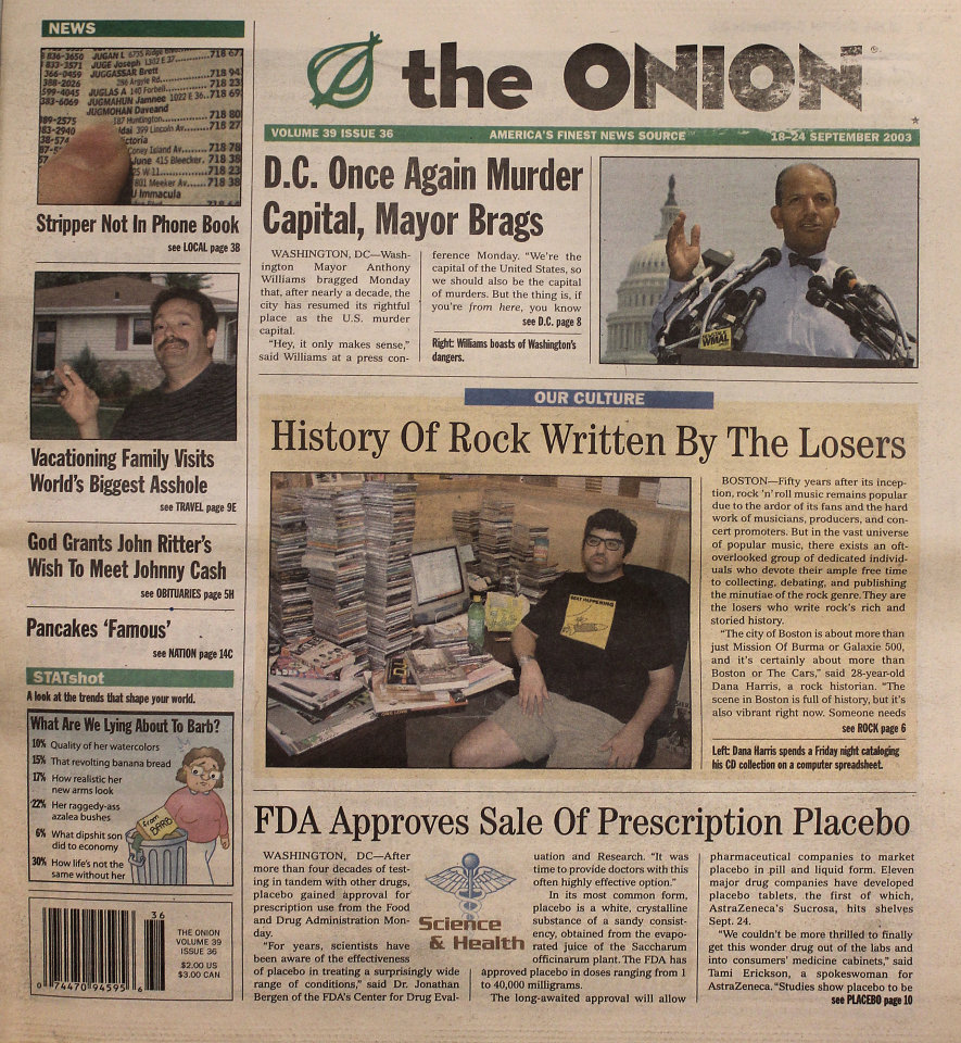 The Onion Vol. 39 Iss. 36