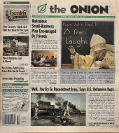 The Onion Vol. 39 Iss. 42 Magazine