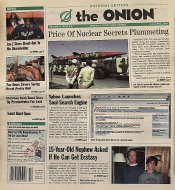 The Onion Vol. 40 Iss. 14 Magazine