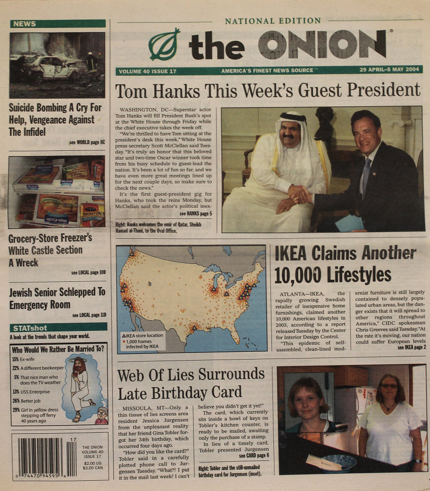 The Onion Vol. 40 Iss. 17