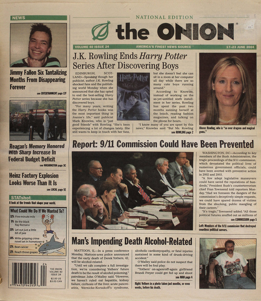 The Onion Vol. 40 Iss. 24
