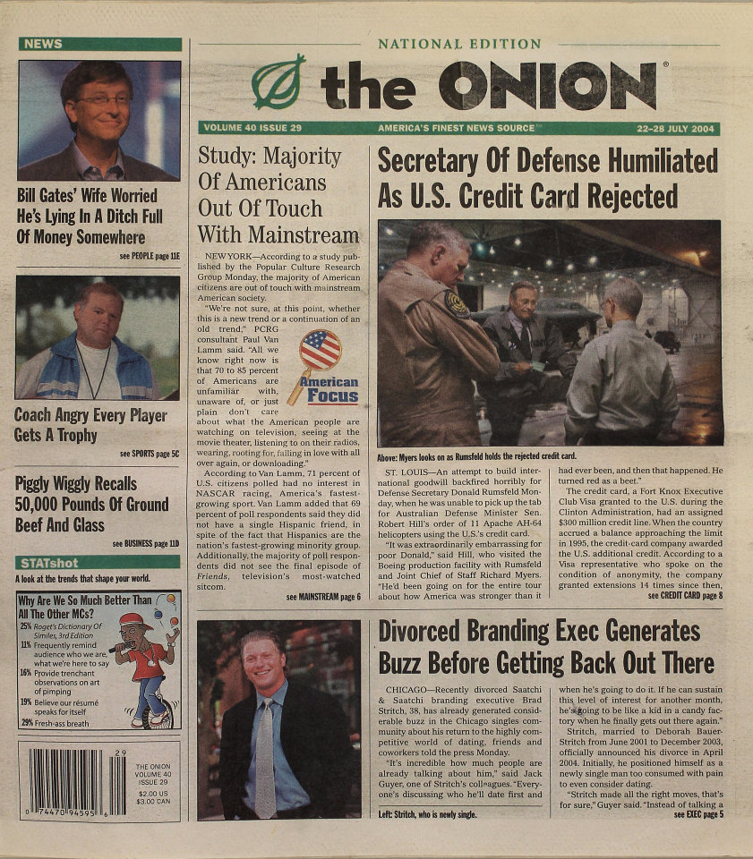 The Onion Vol. 40 Iss. 29