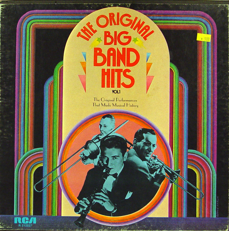 "The Original Big Band Hits Vol. 1 Vinyl 12"" (Used)"
