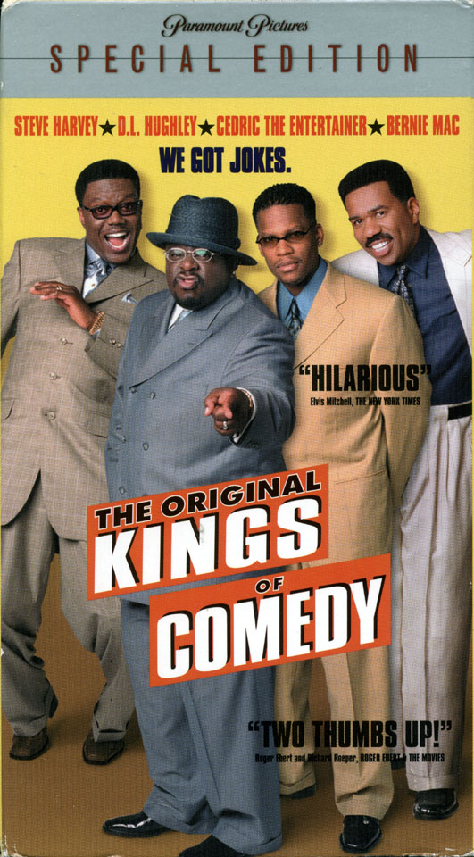 The Original Kings of Comedy VHS