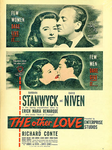 The Other Love Vintage Ad