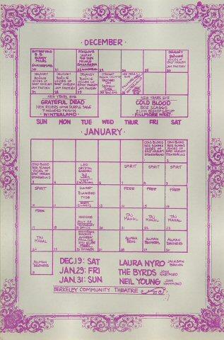 The Paul Butterfield Blues Band Handbill reverse side