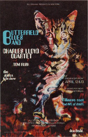 The Paul Butterfield Blues Band Postcard