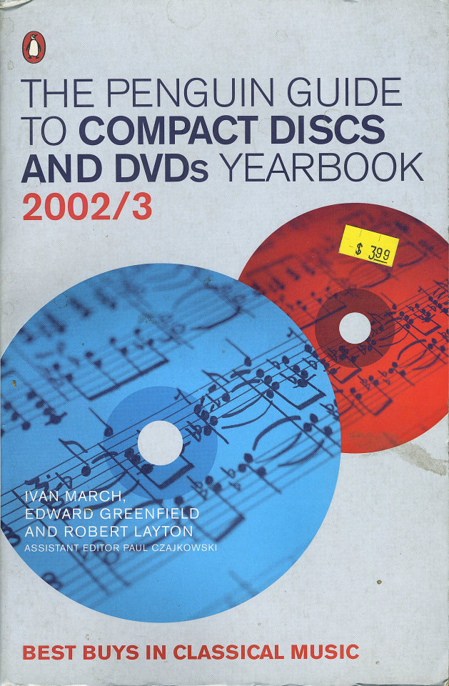 The Penguin Guide to Compact Discs and DVDs Yearbook (2002 - 3)