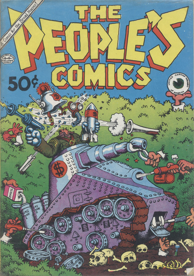 The People's Comics Comic Book